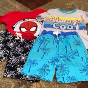 Other - Bundle of (2) summer outfits 4T